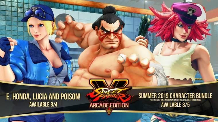 Street Fighter V - két visszatérő karakter és egy vendégszereplő is érkezik bevezetőkép