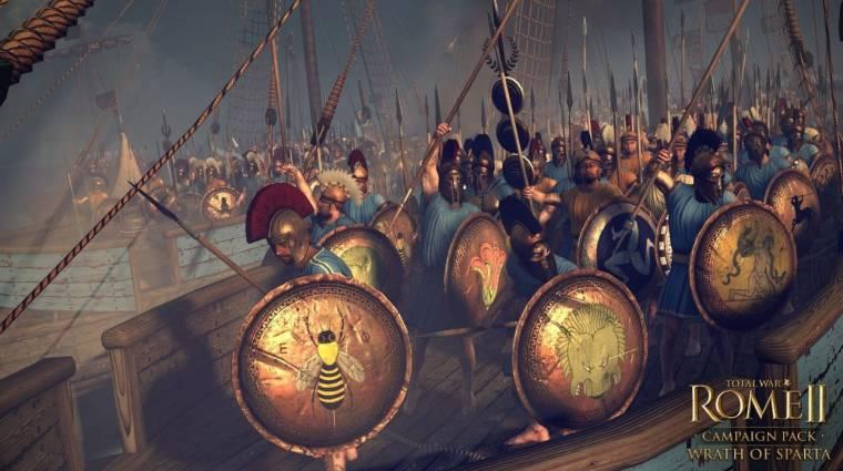 Total War: Rome 2 - jön a Wrath of Sparta kiegészítő bevezetőkép
