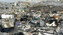 Egy napja izzik az e-hulladék kép