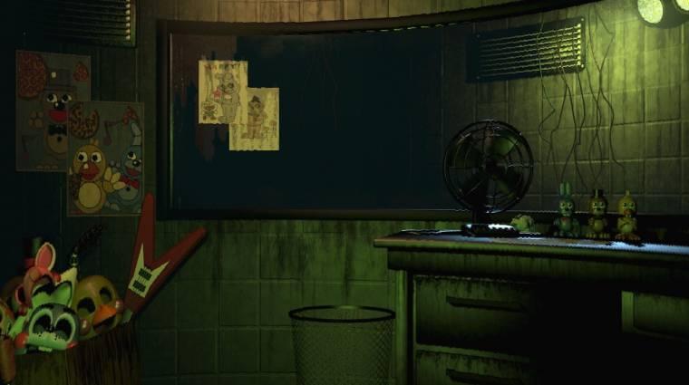 Five Nights at Freddy's 3 megjelenés - erre nem kellett sokat várni bevezetőkép