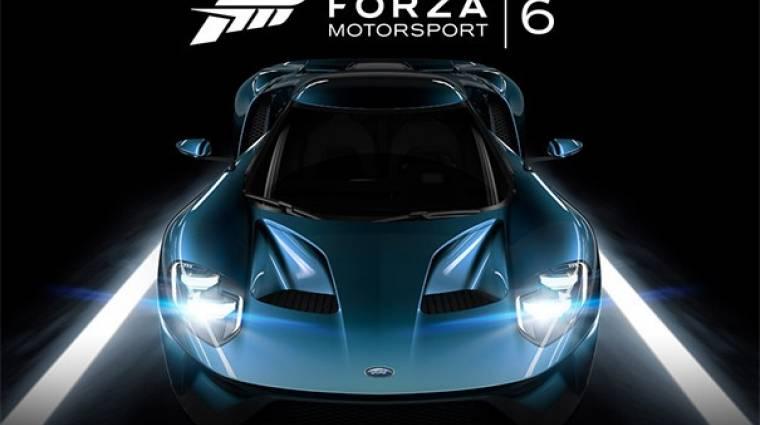 E3 2015 - Forza Motorsport 6 trailer és megjelenési dátum  bevezetőkép