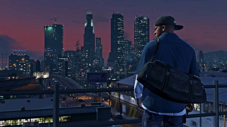 Jövőre csúszik a Grand Theft Auto V új változata, de kaptunk egy előzetest bevezetőkép