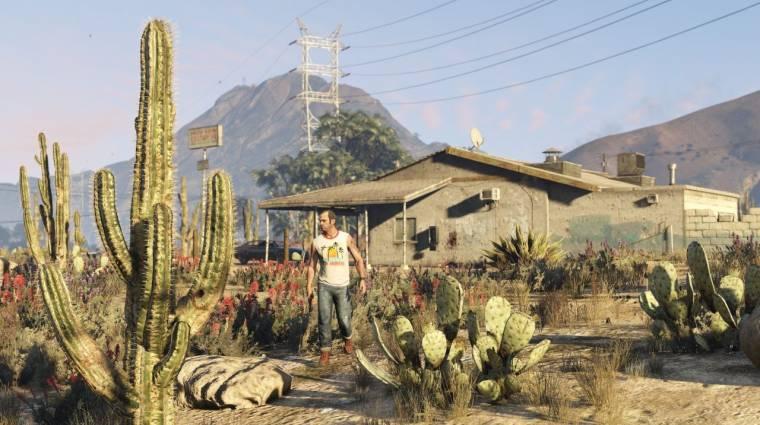 Összehasonlító videón a Grand Theft Auto V egyik legütősebb grafikai modja bevezetőkép