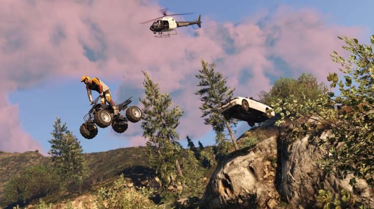Grand Theft Auto V PC - a modoknak annyi bevezetőkép
