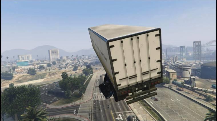 Grand Theft Auto 5 - így ugrat egy profi kamionos (videó) bevezetőkép