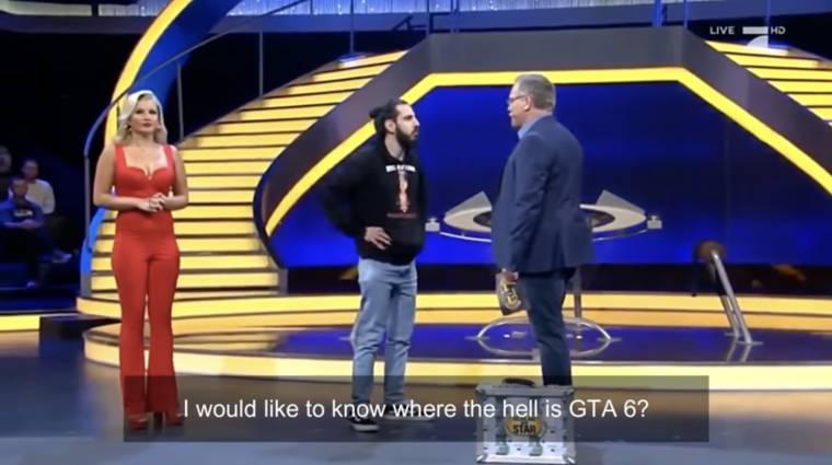 Napi büntetés: beszaladt egy tévés vetélkedő színpadára egy srác, hogy megkérdezze, hol van már a GTA VI bevezetőkép