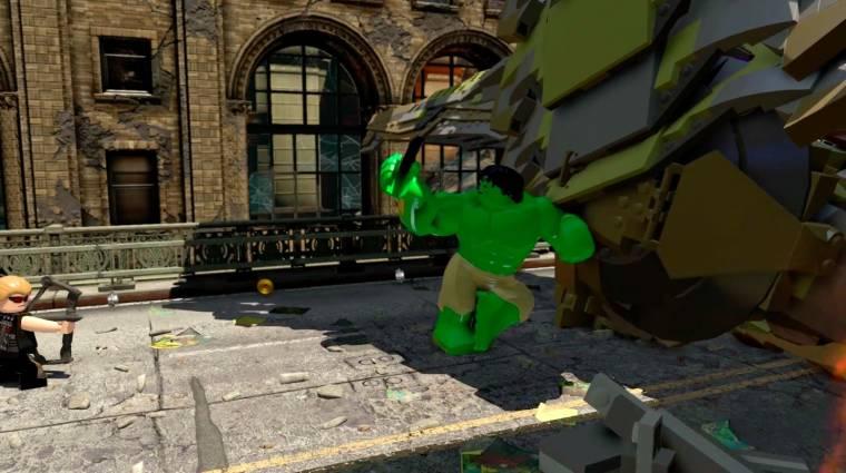 LEGO Marvel's Avengers - egy Hulk selfie is kellett az E3 trailerbe bevezetőkép