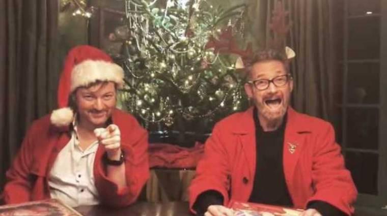 Zseniális a Metal Gear színészeinek karácsonyi meséje bevezetőkép
