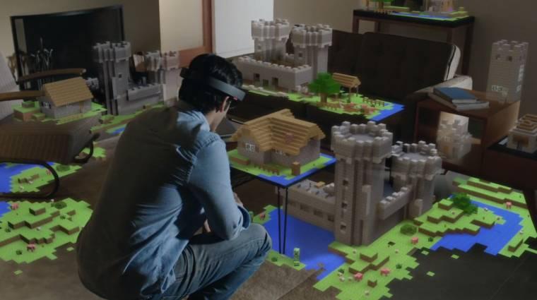 Microsoft HoloLens - az árazás és az új demó is sokkoló bevezetőkép