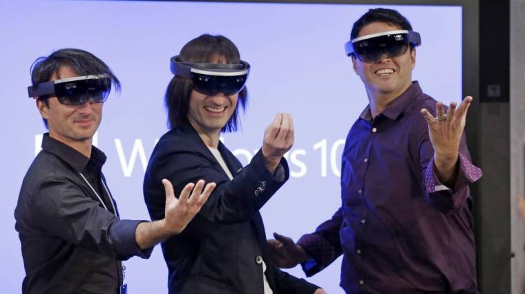 Egy darabig ne számítsatok a Microsoft HoloLens megjelenésére bevezetőkép