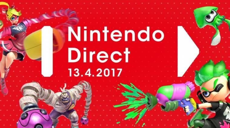 Nintendo Direct - a héten hallhatunk a közelgő Switch és 3DS játékokról bevezetőkép