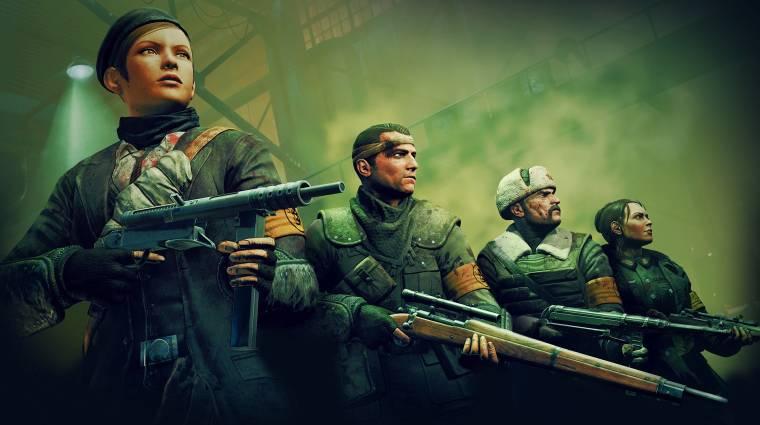 Zombie Army Trilogy trailer - most már tényleg tessék a földben maradni! (videó) bevezetőkép