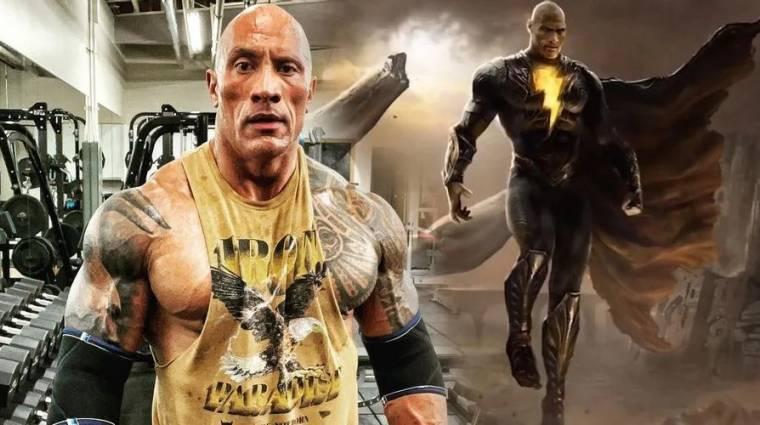 Lesz egy nagy különbség Dwayne Johnson Black Adam jelmeze és a többi hősszerkó között bevezetőkép