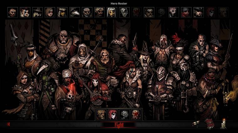 Áprilisi tréfának hitték sokan, de tényleg többjátékos módot kap a Darkest Dungeon bevezetőkép