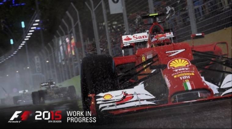 F1 2015 megjelenés - kiderült, hogy mikor érkezik a száguldó cirkusz bevezetőkép