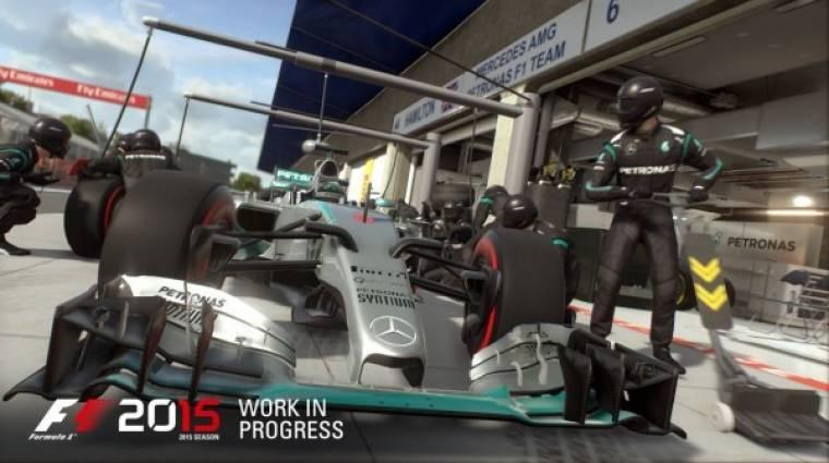 F1 2015 megjelenés - csúszni fog a rajt bevezetőkép