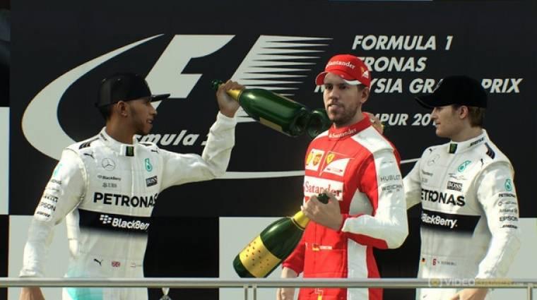 F1 2015 - nem lesz Career mód bevezetőkép