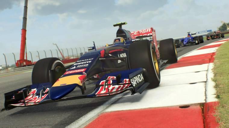 F1 2015 - később támogatni fogja a DirextX 12-t bevezetőkép