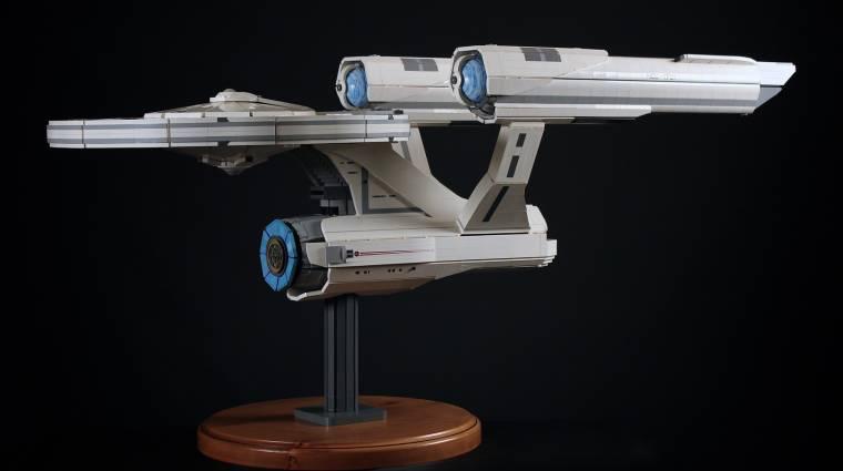 Ilyen gyönyörű LEGO Enterprise modellt még nem láttunk bevezetőkép