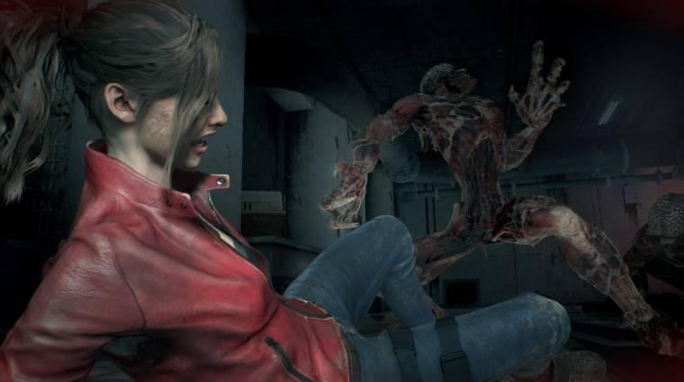 Resident Evil 2 - negyedórás játékmenetben találkozhatunk a Lickerekkel bevezetőkép