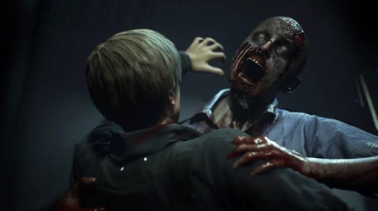 Resident Evil 2 - gyorsabban fogy, mint zombiknál az agyvelő bevezetőkép