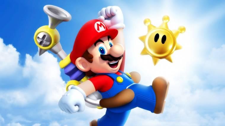 Már a Super Mario Sunshine is képes 60 fps-re bevezetőkép