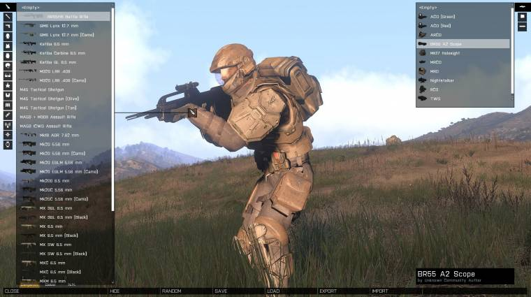 Egy Arma III mod, ami katonai szimulátort csinál a Halóból bevezetőkép