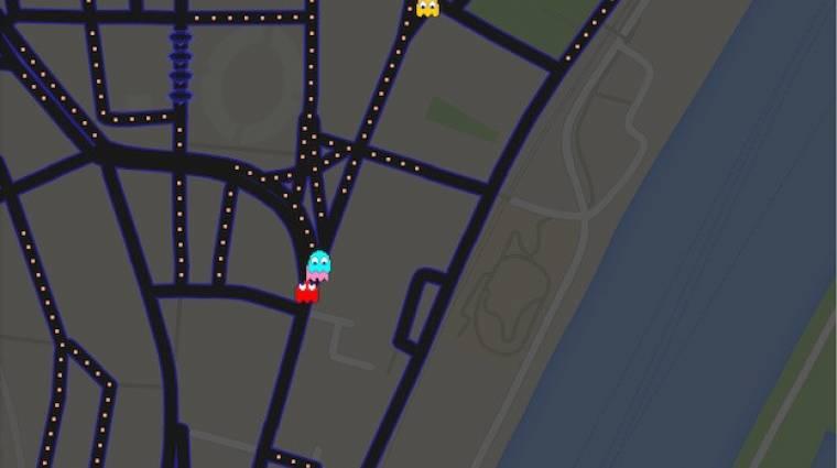 Google Maps - Pac-Man-ezz az utcádban! bevezetőkép
