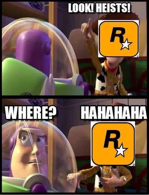 Rockstar heist matchmaking