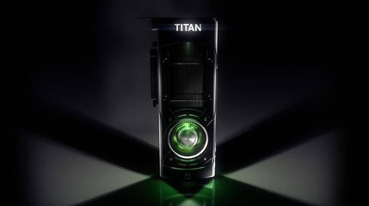 Nvidia Titan X - a GDC-n mutatták be a 12 GB-os szörnyeteget bevezetőkép