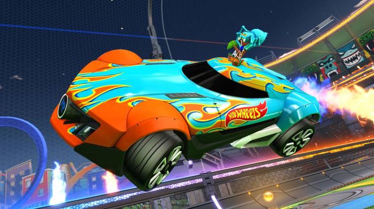 Rocket League - jövő héten jönnek az új Hot Wheels verdák bevezetőkép