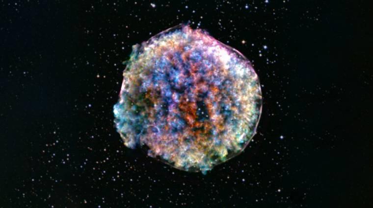 Elég a grafikonokból: a NASA megzenésítette egy csillag felrobbanását kép