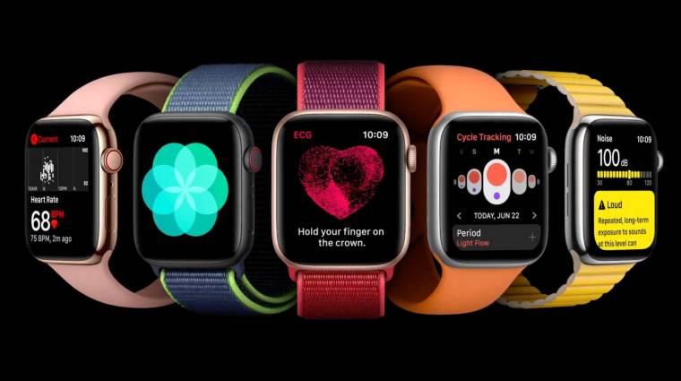 Váratlanul újraindulhatnak egyes Apple Watch okosórák kép