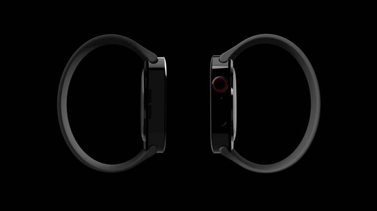 Ilyen lehet majd a megújult, szögletesebb Apple Watch kép