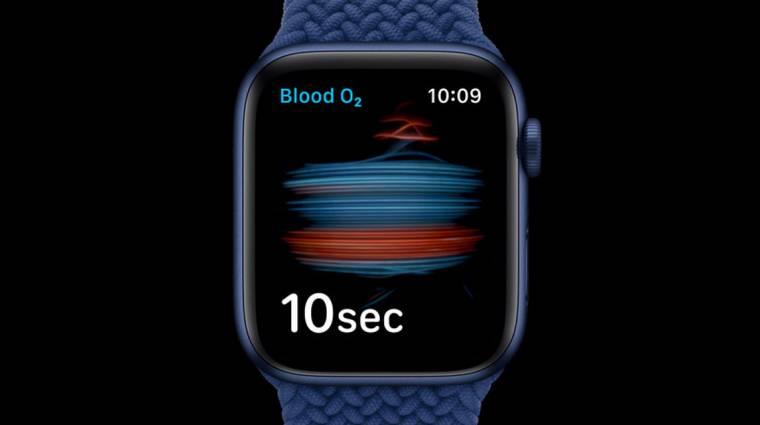 Új egészségügyi funkcióval jön majd az Apple Watch Series 7 kép