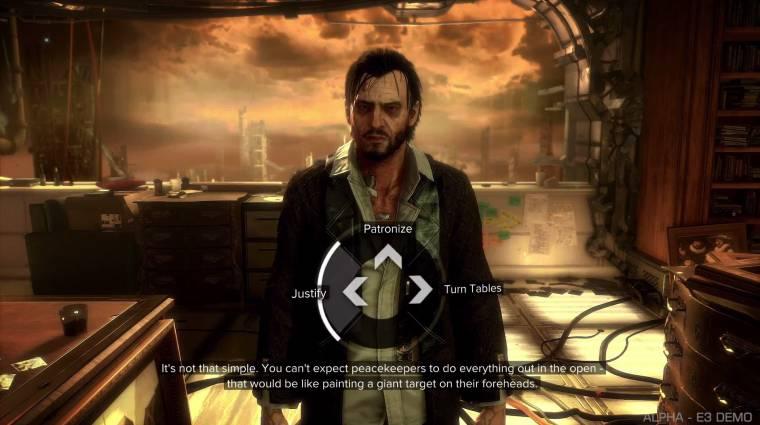 Deus Ex: Mankind Divided - akár ki is dumálhatod magad a bossharcokból bevezetőkép