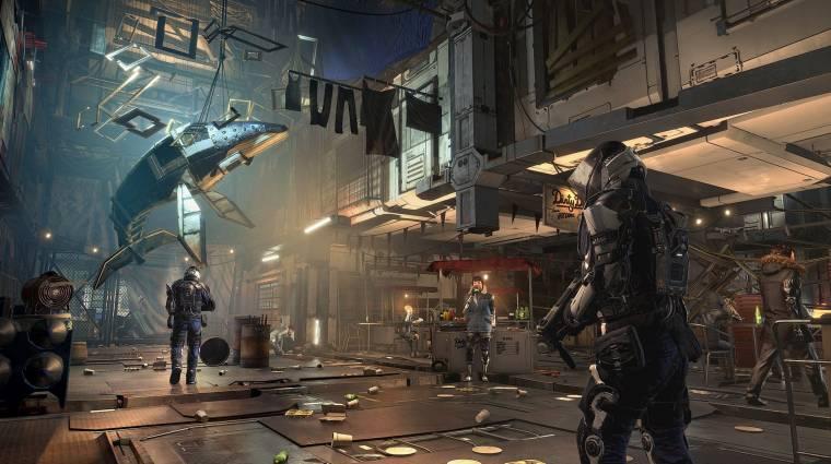 A Deus Ex: Mankind Divided az első, HDR-t támogató PlayStation 4 játék bevezetőkép