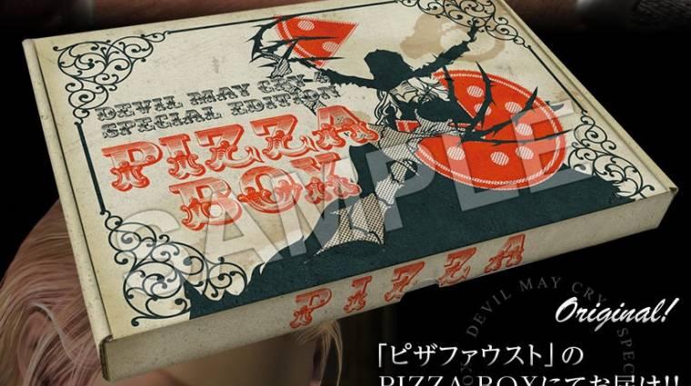 Devil May Cry 4: Special Edition - pizzásdobozban jön a gyűjtői kiadás bevezetőkép