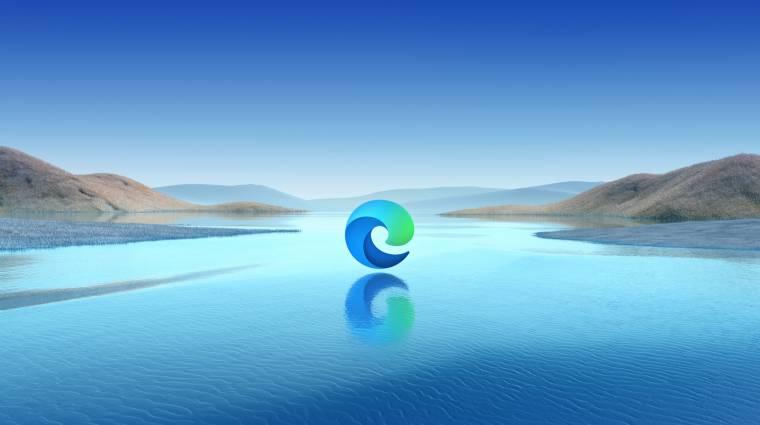 A második legnépszerűbb böngésző lett a Microsoft Edge kép
