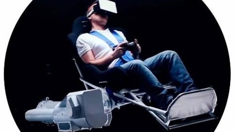 MMOne VR szék - ezzel lesz tökéletes az élmény bevezetőkép