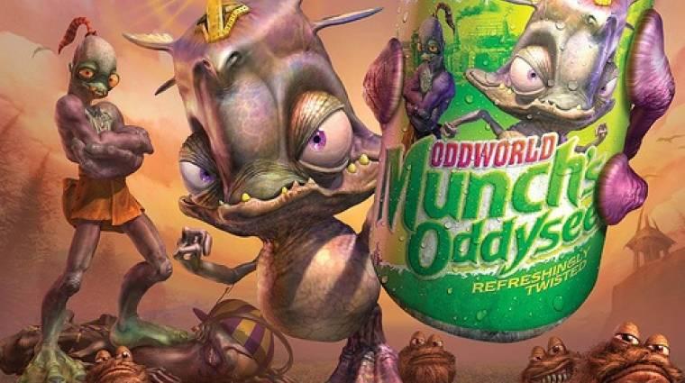 Oddworld: Munch's Oddysee - jön egy javított változat bevezetőkép