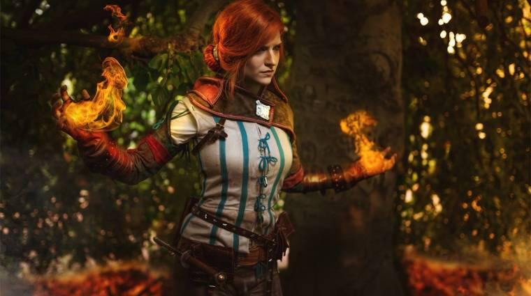 Minden Witcher-rajongót elvarázsol ez a Triss cosplay bevezetőkép