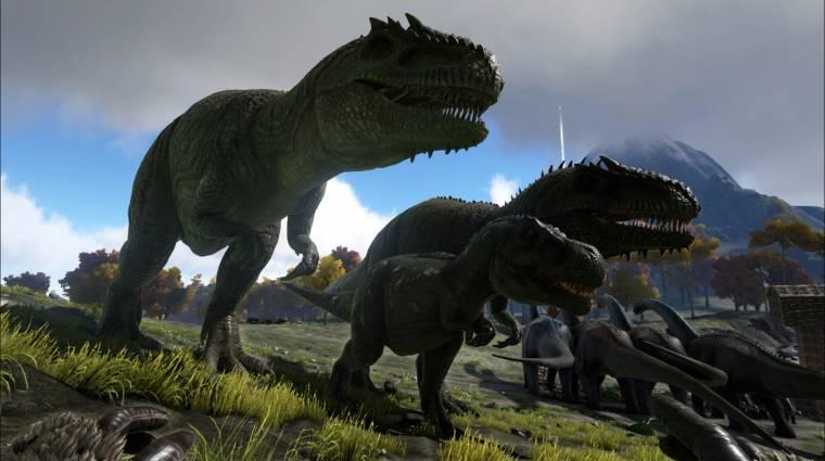 Ark: Survival Evolved - már a kihalás is fenyegeti a dínóinkat bevezetőkép