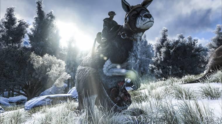 Ark: Survival Evolved - már óriási ős-kengurun is csatába lovagolhatsz (videó) bevezetőkép