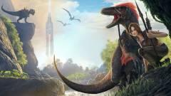 Ark: Survival Evolved - elolvadunk a launch trailer vidrájától kép