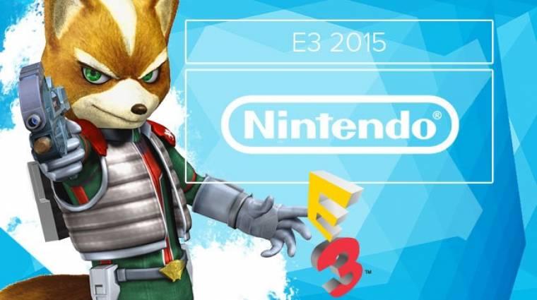 E3 2015 - Nintendo élő közvetítés bevezetőkép