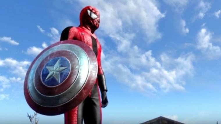 Amerika Kapitány: Polgárháború - ilyen a trailer a Fallout 4-ben bevezetőkép