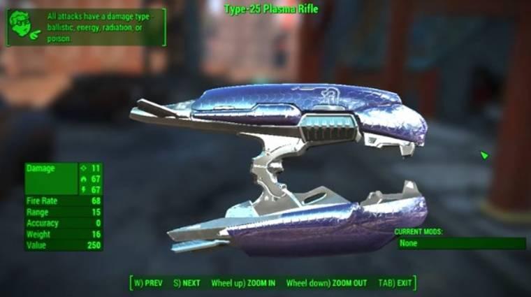 Magaddal viheted a Halo játékok plazmapisztolyát a Fallout 4-be bevezetőkép