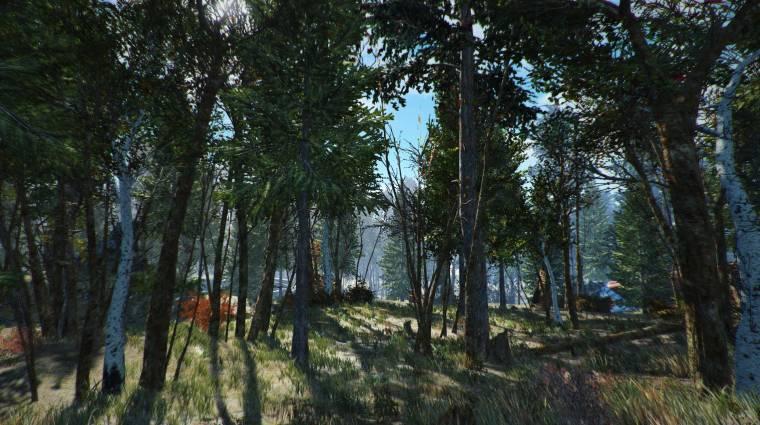 A Fallout 4 rajongói textúracsomagja 10 000 fát adott hozzá a játékhoz bevezetőkép