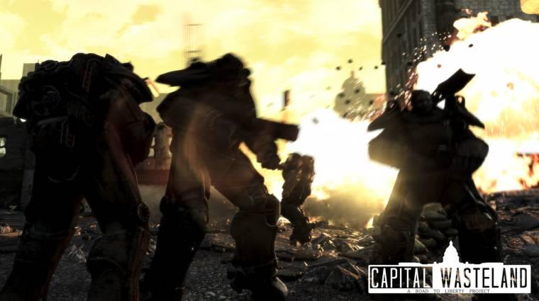 Így fut a Fallout 4-ben újrakevert Fallout 3 bevezetőkép